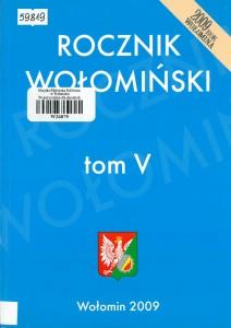 rocznik-wolominski-tom-v-2009