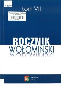 rocznik-wolominski-tom-vii-2011